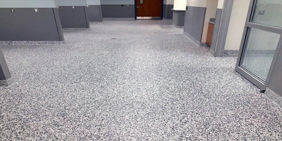 Resinous Flooring :: Tiede-Zoeller Tile